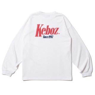 KEBOZ TM HEAVY WEIGHT KBIG L/S WHITE