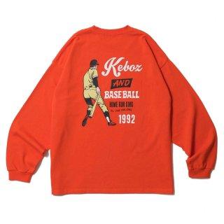 KEBOZ KAB HEAVY WEIGHT KBIG L/S ORANGE