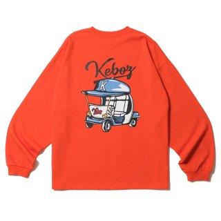 KEBOZ BPC HEAVY WEIGHT KBIG L/S ORANGE