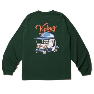 KEBOZ BPC HEAVY WEIGHT KBIG L/S FOREST GREEN