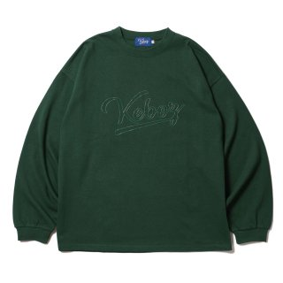 KEBOZ WSC HEAVY WEIGHT KBIG L/S FOREST GREEN