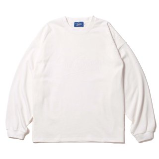 KEBOZ WSC HEAVY WEIGHT KBIG L/S WHITE