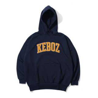 KEBOZ UC CHENILLE SWEAT PULLOVER NAVY