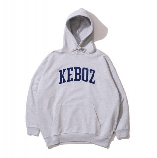 KEBOZ UC CHENILLE SWEAT PULLOVER HEATHER GRAY