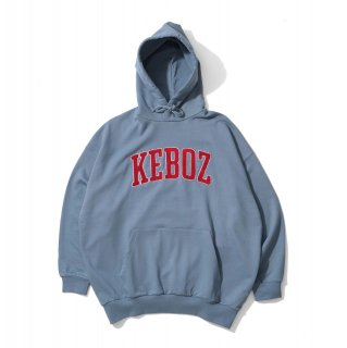 KEBOZ UC CHENILLE SWEAT PULLOVER SLATE BLUE
