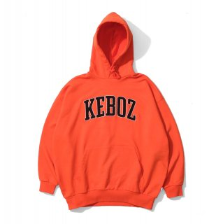 KEBOZ UC CHENILLE SWEAT PULLOVER ORANGE