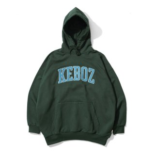 KEBOZ UC CHENILLE SWEAT PULLOVER FOREST GREEN