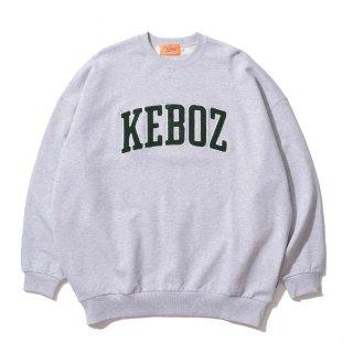 KEBOZ UC CHENILLE SWEAT CREWNECK HEATHER GRAY