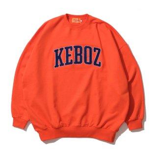 KEBOZ UC CHENILLE SWEAT CREWNECK ORANGE