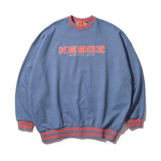 KEBOZ KAC SWEAT CREWNECK SLATE BLUE