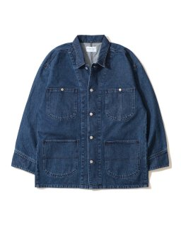 USEFUL THINGS DENIM COVERALL BLUE