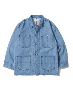 USEFUL THINGS DENIM COVERALL ICE BLUE