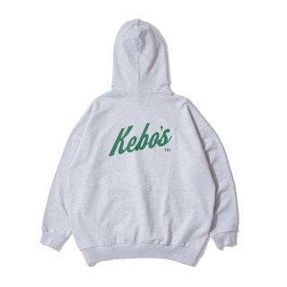 KEBOZ SNL SWEAT PULLOVER HEATHER GRAY