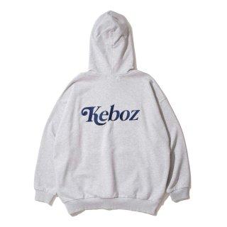 KEBOZ JB SWEAT PULLOVER HEATHER GRAY