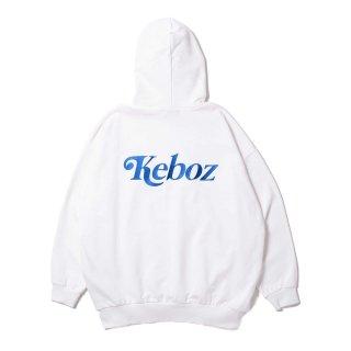 KEBOZ JB SWEAT PULLOVER WHITE