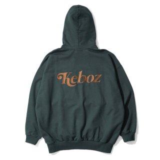 KEBOZ JB SWEAT PULLOVER FOREST GREEN