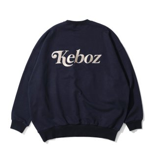 KEBOZ JB SWEAT CREWNECK NAVY
