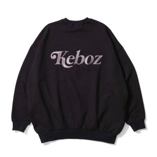 KEBOZ JB SWEAT CREWNECK BLACK
