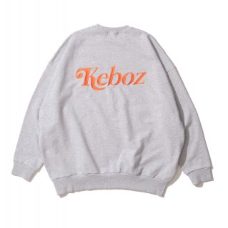 KEBOZ JB SWEAT CREWNECK HEATHER GRAY