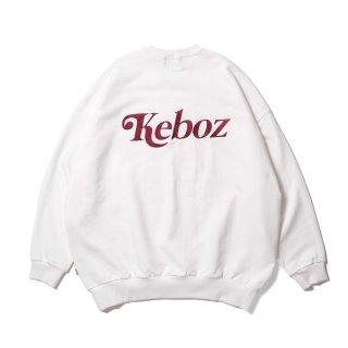 KEBOZ JB SWEAT CREWNECK WHITE
