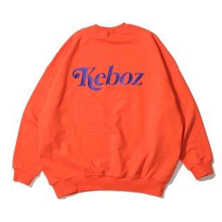 KEBOZ JB SWEAT CREWNECK ORANGE