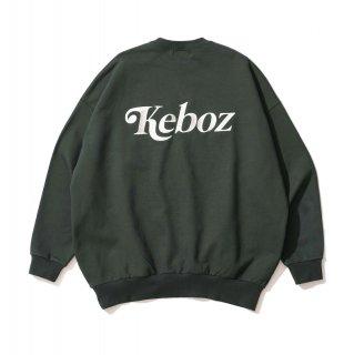 KEBOZ JB SWEAT CREWNECK FOREST GREEN