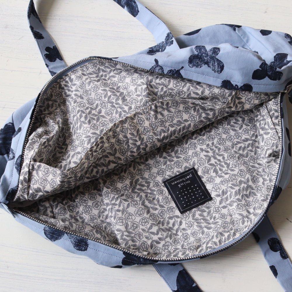 【送料無料】mina perhonen(ミナペルホネン)2019ss<br> memoria oregon bag<BR>ハンドバッグ、ボストンバッグ