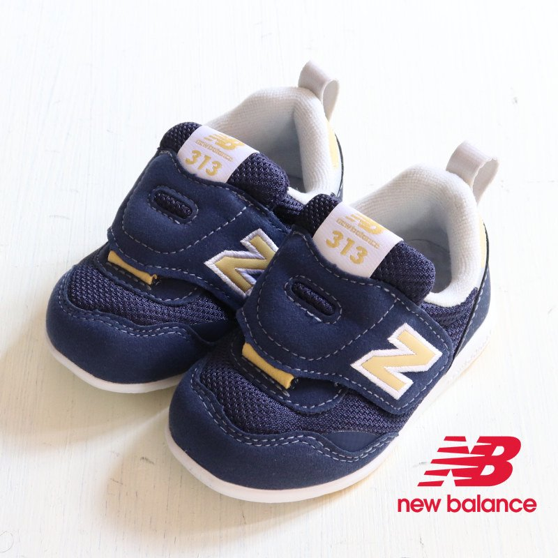 <img class='new_mark_img1' src='https://img.shop-pro.jp/img/new/icons5.gif' style='border:none;display:inline;margin:0px;padding:0px;width:auto;' />NEW BALANCE(ニューバランス)2021AW<br>IT313 FIRST NG(ベビー・インファント)<br>IT313FNG(navy/yellow)【定番】