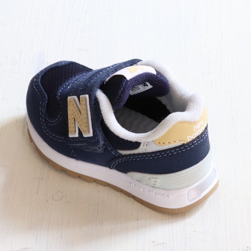 <img class='new_mark_img1' src='https://img.shop-pro.jp/img/new/icons5.gif' style='border:none;display:inline;margin:0px;padding:0px;width:auto;' />NEW BALANCE(ニューバランス)2021AW<br>IO313 NG(ベビー・キッズ)<br>IO313 NG(navy/yellow)【定番】