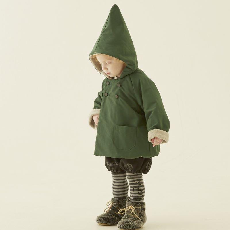 【30%OFFセール】eLfinFolk (エルフィンフォルク)2020AW<br>elf coat<BR>撥水、裏フリースコート<BR>90-130サイズ