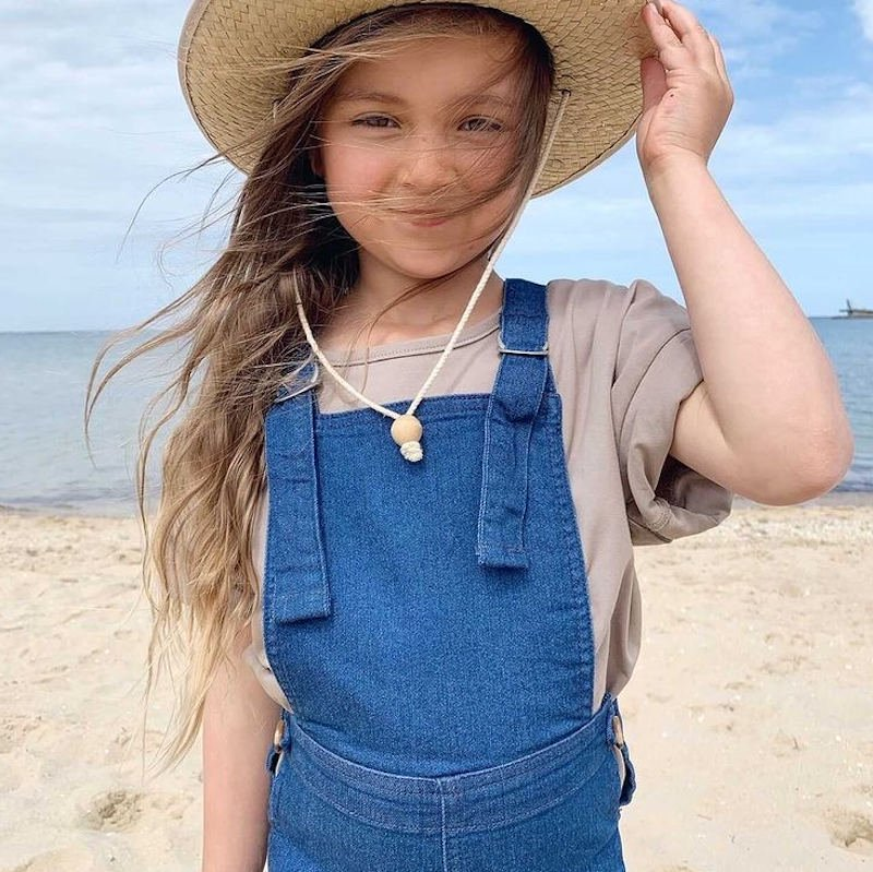 <img class='new_mark_img1' src='https://img.shop-pro.jp/img/new/icons5.gif' style='border:none;display:inline;margin:0px;padding:0px;width:auto;' />Twin Collective Kids <br> Farrah Flare denim Overall<br>オーバーオール<BR> サロペット コットンデニム(twincollective)