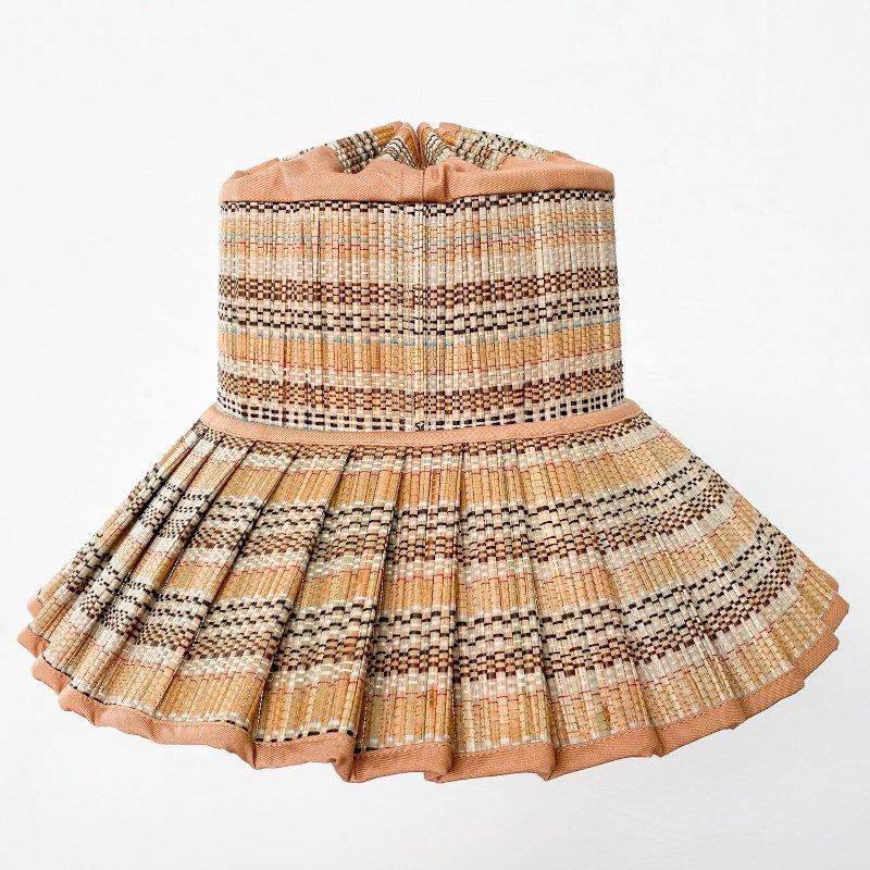 Lorna Murray(ローナマーレイ)<BR>Adult Capri<BR>Nafplio Bay<BR>天然素材ハット レディース帽子