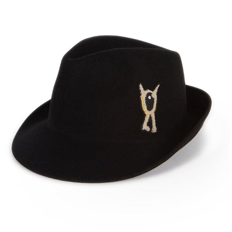 WOLF&RITA(ウルフアンドリタ) 2021AW <BR>LEONARDO LOVE THEATER<BR>ワンポイント刺繍デザインハット(子供帽子)