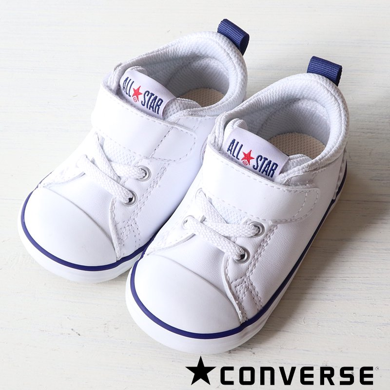 CONVERSE(コンバース)2021SS<br>ベビー・インファント<BR>FIRST STAR ファーストスター<br>MINI ALLSTAR ミニ オールスター