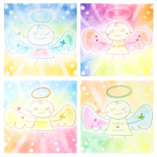 リーディングメッセージ付き♡しあわせ天使アート〜今のあなたへ天使からのメッセージ〜