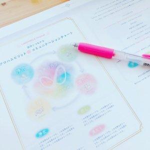 「ワークノート」自分とつながる♡アロハピレッスン〜自分取扱説明書の作り方♡〜