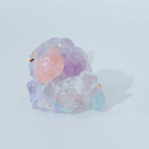 No37【1点物】こぼれ落ちる儚き美しさ〜マジョアカトトライト*Lira Malie〜