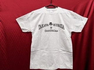 Tシャツ(白地×黒文字)
