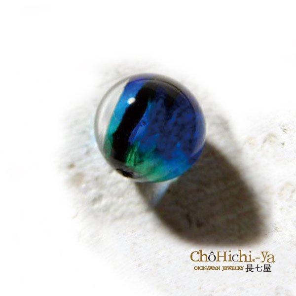 七海ガラス ケラマブルーネックレス 【KNT-35】 証明書付
