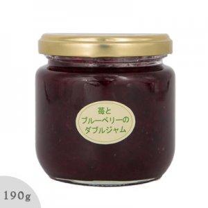 苺とブルーベリーのダブルジャム