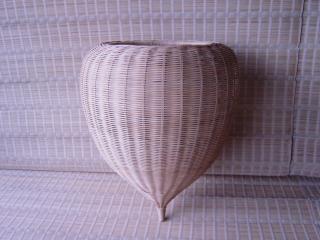 ドロップ型籐籠