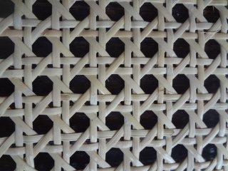 カゴメ編み1/2 60cm幅×40cm 白っぽい(ブリーチ