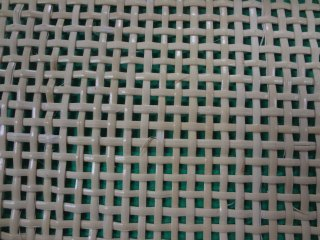 四ツ目編み 60cm幅×44cm 白っぽい(ブリーチ)