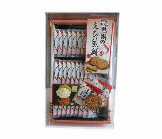 琵琶湖のえび煎餅16枚入