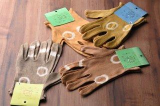 草木染手袋  Mサイズ