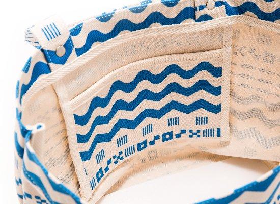モリヤマコレクション×暮らしラボ コラボトートバッグ