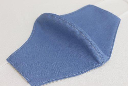 抗菌素材マスク(ライトブルー)