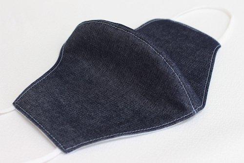 抗菌素材マスク(ネイビー)