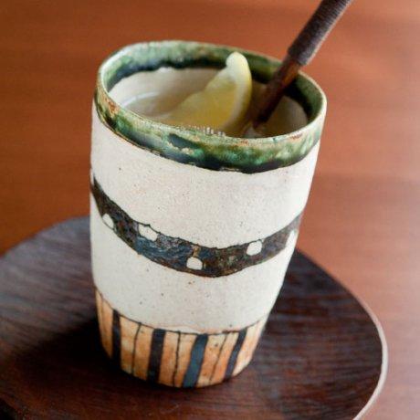 織部鉄帯フリーカップ