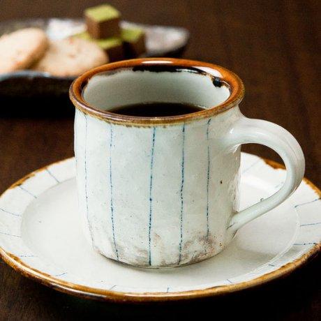 ゴスアメ釉コーヒーC&S